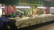 Stuarts Fruit & Veg Wall Coverings