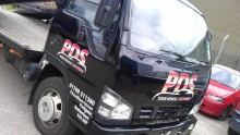 PDS Vehicle Transporter wrap