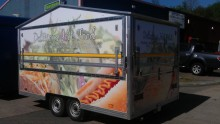 Mobile Food Van Wrap